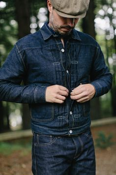 LVC jacket and Rogue Territory jeans. (at DenimBruin SF)