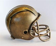San Diego Chargers Desktop Helmet Statue by Wild Sports. Buy it @ ReadyGolf.com!