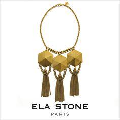 elastone(エラ・ストーン)PlastronSimonaシモーナネックレス