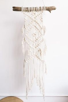 for bedroom. Beach Dreams Wall Hanging by ModernMacrame $188