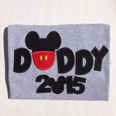 A personal favorite from my Etsy shop https://www.etsy.com/listing/252982113/mickey-daddy-with-year-personalized
