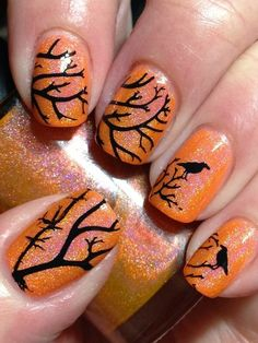 Spooky spider webs to complete any Halloween costume or outfit.Red spider web nails for Halloween day.Images via, Halloween Nail Art Web Nail Designs NAILTHINS. Nail Art Designs, Holiday Nail Designs, Simple Nail Designs, Holiday Nails, Nails Design, Nail Art Halloween, Halloween Nail Designs, Easy Halloween, Halloween Coffin
