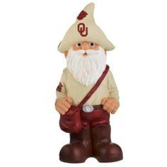 "Oklahoma Sooners Garden Gnome - 11"" Thematic - BiggSports.com"
