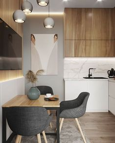 43 Inspiring Kitchen Cabinet Colors and Ideas That Will Blow You Away ⋆ All About Home Decor Kitchen Room Design, Kitchen Cabinet Colors, Interior Design Kitchen, Kitchen Decor, Modern Kitchen Interiors, Cheap Home Decor, Home Remodeling, Room Decor, Decoration