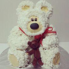 Vanilla Teddy Bear cake.