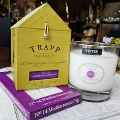 Our longest carried line at Crafted Decor years) is Trapp Candles - a bottle of perfume in every candle Trapp Candles, Fig, Ontario, Random Stuff, Finding Yourself, Fragrance, Perfume, Bottle, Crafts