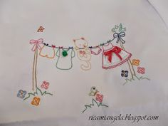 Hand Embroidery Videos, Hand Embroidery Flowers, Baby Embroidery, Hand Embroidery Stitches, Embroidery Needles, Hand Embroidery Designs, Beaded Embroidery, Cross Stitch Embroidery, Embroidery Patterns