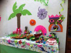 Festa temàtica infantil hawaiana
