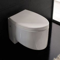 Scarabeo by Nameeks Zefiro Wall Mounted Toilet - SCARABEO 8208, Durable
