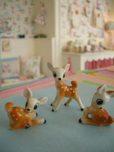ceramic little deers