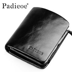 Aliexpress.com : Buy Cow Leather Short Purse Men Hasp Cover Photo Holder Cluch Men Wallet Fold Card Holder Vintage Pocket Money Bag from Reliable wallets for men with chain suppliers on Vlada Lazo Store