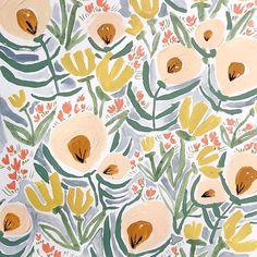 Margaret jeane print + pattern в 2019 г. Textures Patterns, Fabric Patterns, Print Patterns, Floral Patterns, Surface Pattern Design, Pattern Art, Floral Illustrations, Illustration Art, Textile Prints
