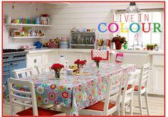 Cath Kidson kitchen