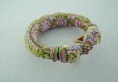 intricate meenakari enamel bracelet