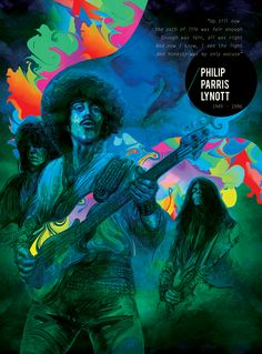 Tribute To Phil Lynott by Ladislav Hubert