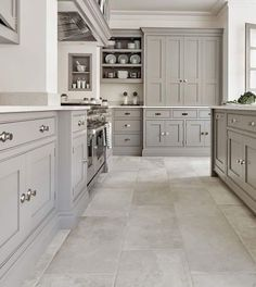 Your kitchen is the whipping centre of your residence, so picking the appropriate kitchen flooring is essential. Here are our tips on discovering the kitchen floor of your desires motivating kitchen flooring ideas. Discover which is the very best flooring Grey Kitchen Cabinets, Kitchen Renovation, Grey Kitchen Designs, Kitchen Flooring, Farmhouse Kitchen Design, Dream Kitchens Design, Kitchen Style, Modern Farmhouse Kitchens, Kitchen Cabinets