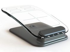 Glass Multi-Touch Mouse