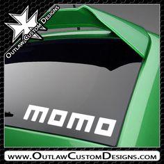Momo - Name Logo - Outlaw Custom Designs, LLC