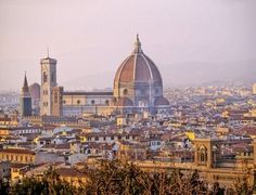 This is a picture of Florence, Italy where a lot of things went on during the time period of the Renaissance. Tons of artist and philosophers lived in Florence, Italy.