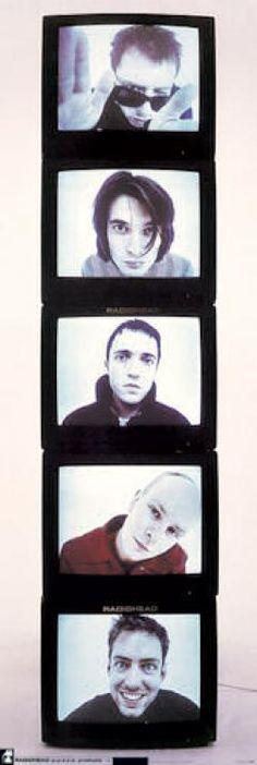Door poster radiohead #radiohead