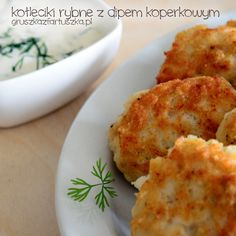 Kotleciki rybne Brunch, Polish Recipes, Polish Food, Mashed Potatoes, Cauliflower, Seafood, Cooking Recipes, Cooking Ideas, Curry