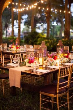 Warm outdoor fall receptions. Photography by dillonphoto.com, Planning Coordination by socialgracesevents.com, Floral Design by creationsproduction.com