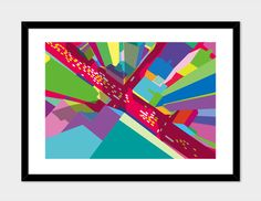"""Intersection 2"", Numbered Edition Fine Art Print by yoni alter - From $39.00 - Curioos"