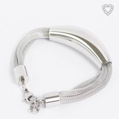 - Triple rounded mesh bracelet with arch pendent Mesh Bracelet, Bracelets, Stainless Steel Jewelry, Jewelry Collection, Arch, Beautiful, Charm Bracelets, Bracelet, Arches