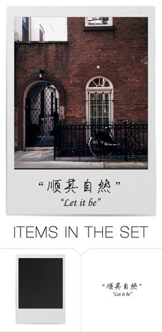 """LET IT BE"" by emmas-fashion-diary ❤ liked on Polyvore featuring art"