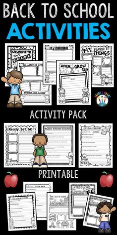 Back to school activ