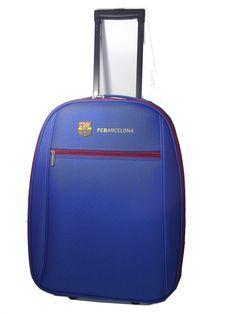 Esta maleta del FC Barcelona es perfecta para regalar a un viajero que sea del equipo.  #regalo #maletas #FCBarcelona #fútbol #hombre
