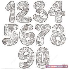natur animals Zentangle Numbers Set 0 9 coloring page from Zentangle Numbers category. Select from 27948 printable crafts of cartoons, nature, animals, Bible and many more. Free Printable Numbers, Printable Crafts, Free Printable Coloring Pages, Printable Alphabet, Colouring Pages, Adult Coloring Pages, Coloring Books, Coloring Sheets, Alphabet Art
