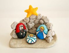 Presepe Hand made in Italy and shared by EtsyItalia Team by gingerbread_snowflakes, via Flickr