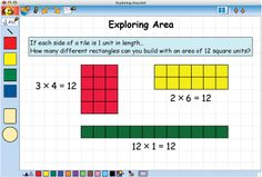 Math Manipulatives: Kidspiration Color Tiles Build Conceptual Understanding in Math.