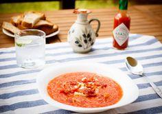 La Ruxandrel - Gazpacho Gazpacho, Hummus, Ethnic Recipes, Food, Essen, Meals, Yemek, Eten