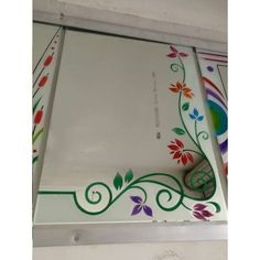 Frame Border Design, Front Gate Design, Glass Door, Glass Art, Glass Etching Designs, Fancy Mirrors, Window Glass Design, Glass Corner Shelves, Etched Mirror