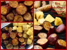 BBQ Shakarkandi & Pineapple Chaat!