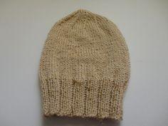 Touca simples de tricô