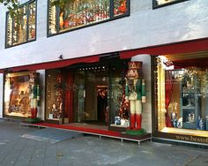 The world famous Christmas Shop of Kathe Wohlfahrt in Berlin