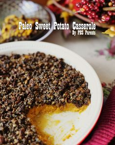 Paleo Sweet Potato Casserole via @PBS Parents