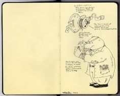 Todd's DrawingDen: Oculus-Optica ( A little concept sketch for my boo...