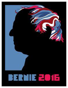 Aaron Thornburgh's Milton Glaser tribute – Artists for Bernie