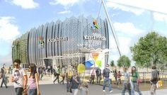 #Kazakhstan Pavilion #Expo2015 Milan #WorldsFair