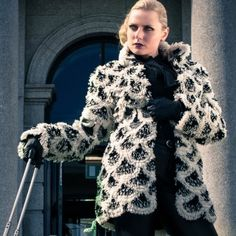 Eco Furs Convertible Coat by Heli Miikkulainen-Gilbert