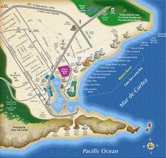 Cabo San Lucas / Marina Map
