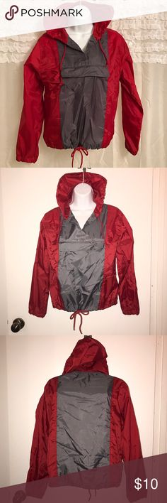 Britches Pull Over Jacket Cute vintage Pull Over. It is a wind breaker material. Not sure if it's a good rain/water protectant or not. It's in great condition! Tops Sweatshirts & Hoodies