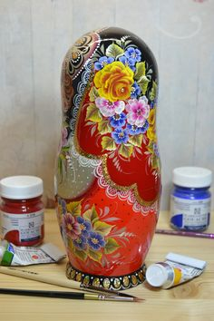 gorgeous russian nesting doll by Valentina Partanen