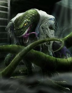 "The Lizard (Dr. Curtis ""Curt"" Connors), Spiderman villain"
