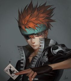 Lavi,Bookman - D.Gray-man