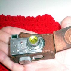 spy camera in miniature! theretrognome on etsy
